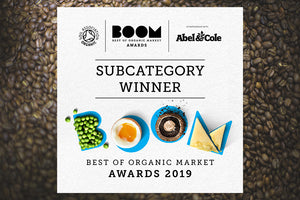 Owens Coffee Win at Soil Association BOOM Awards 2019!