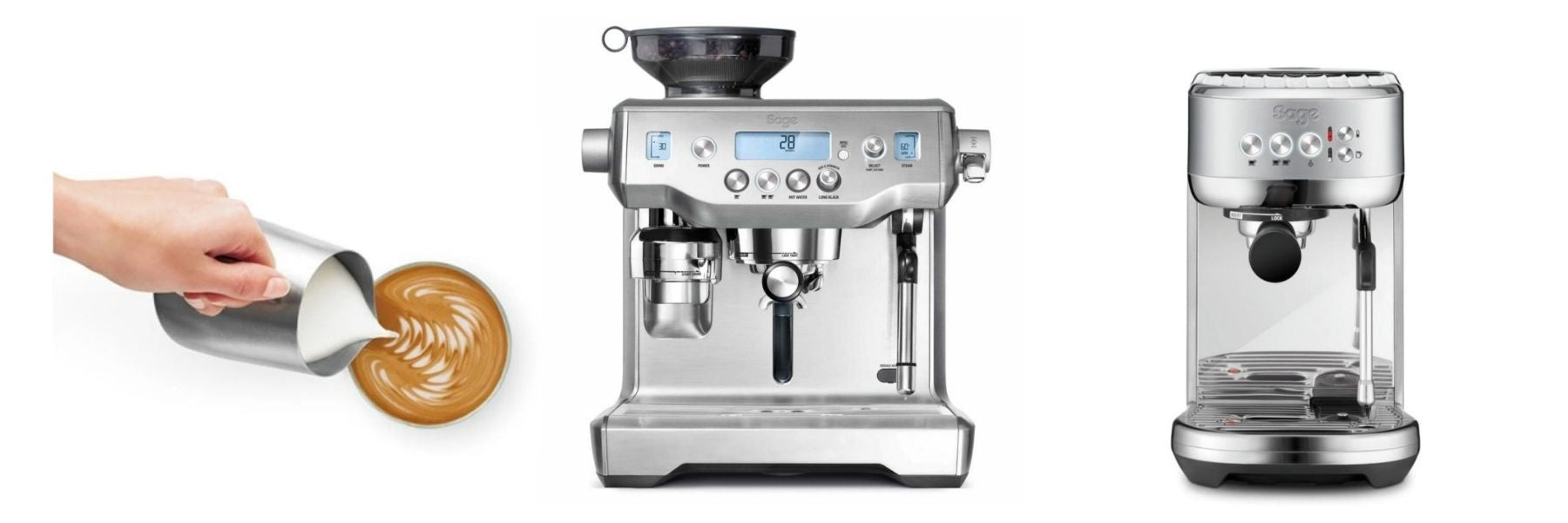 Espresso at home! Discover our new machines by Sage