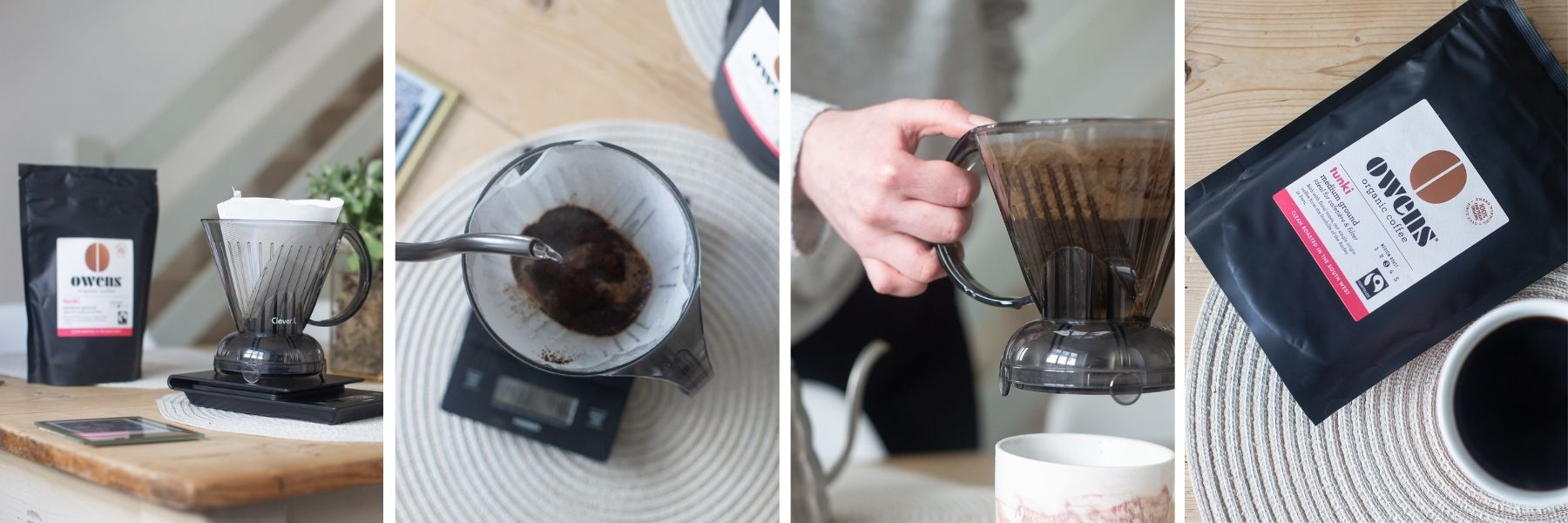 Coffee at home: How to use the Clever Dripper