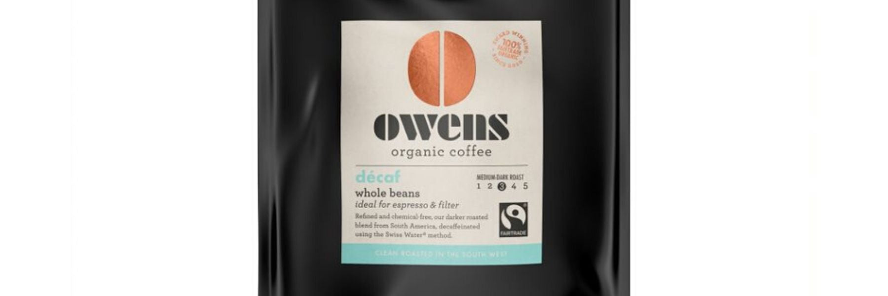Organic decaf coffee beans