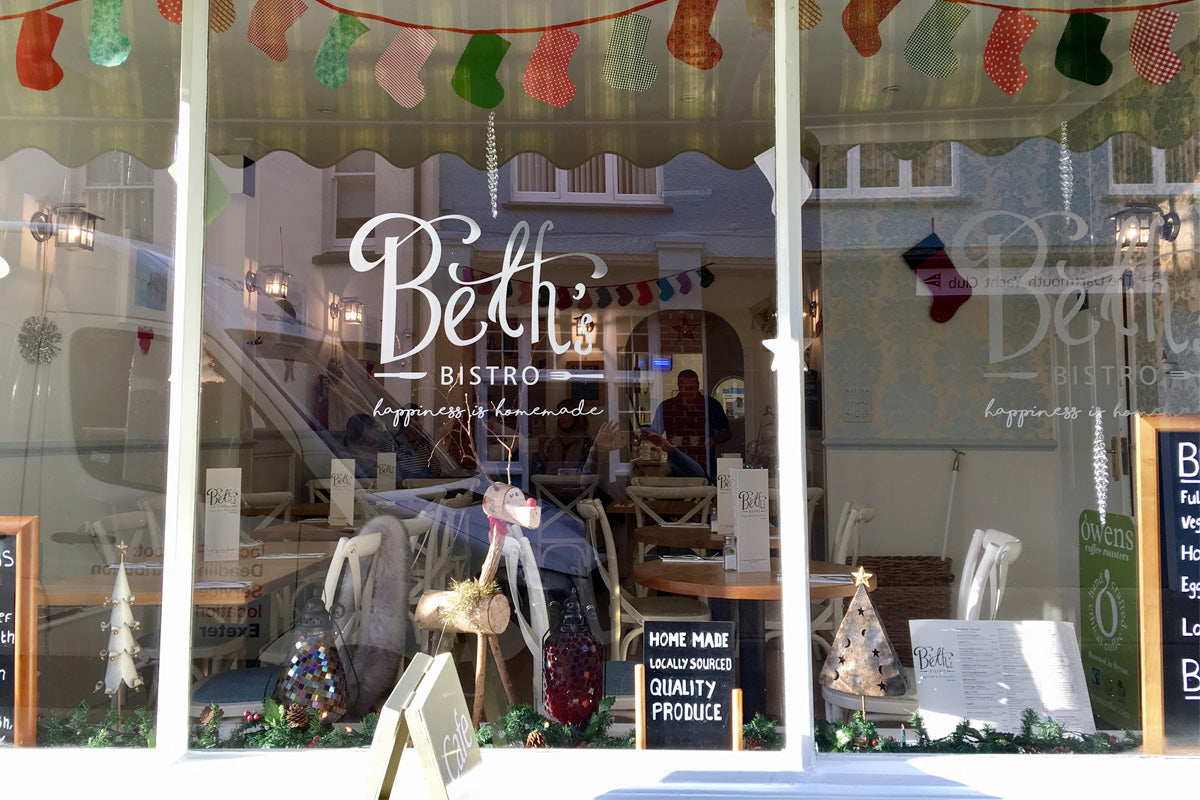 Another fabulous find for coffee – Beth's Bistro in Dartmouth