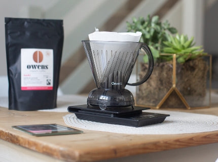 Clever Dripper Coffee Maker with Owens Coffee