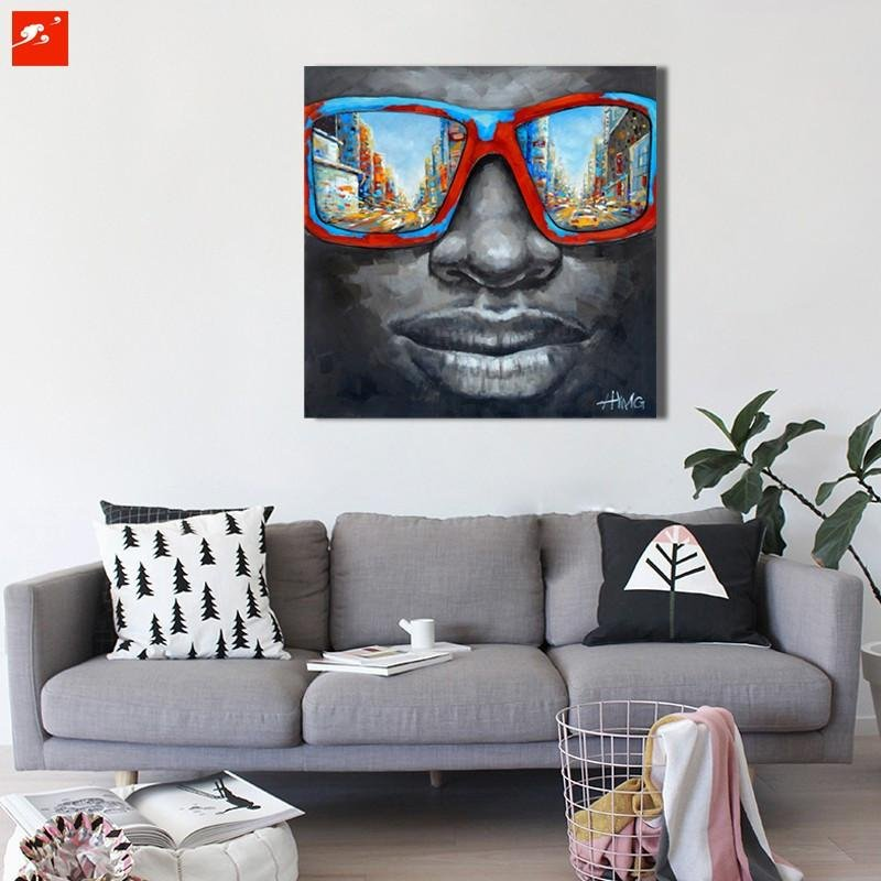 Abstract Modern Men With Retro Sunglasses - Gaia-Stock.com