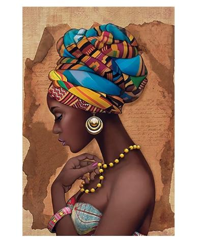 Africa canvas painting Wall Art! - Gaia-Stock.com