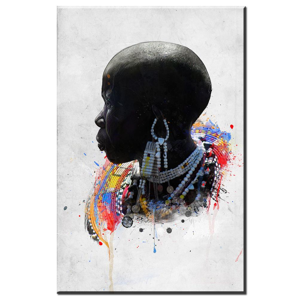 african women abstract canvas - Gaia-Stock.com