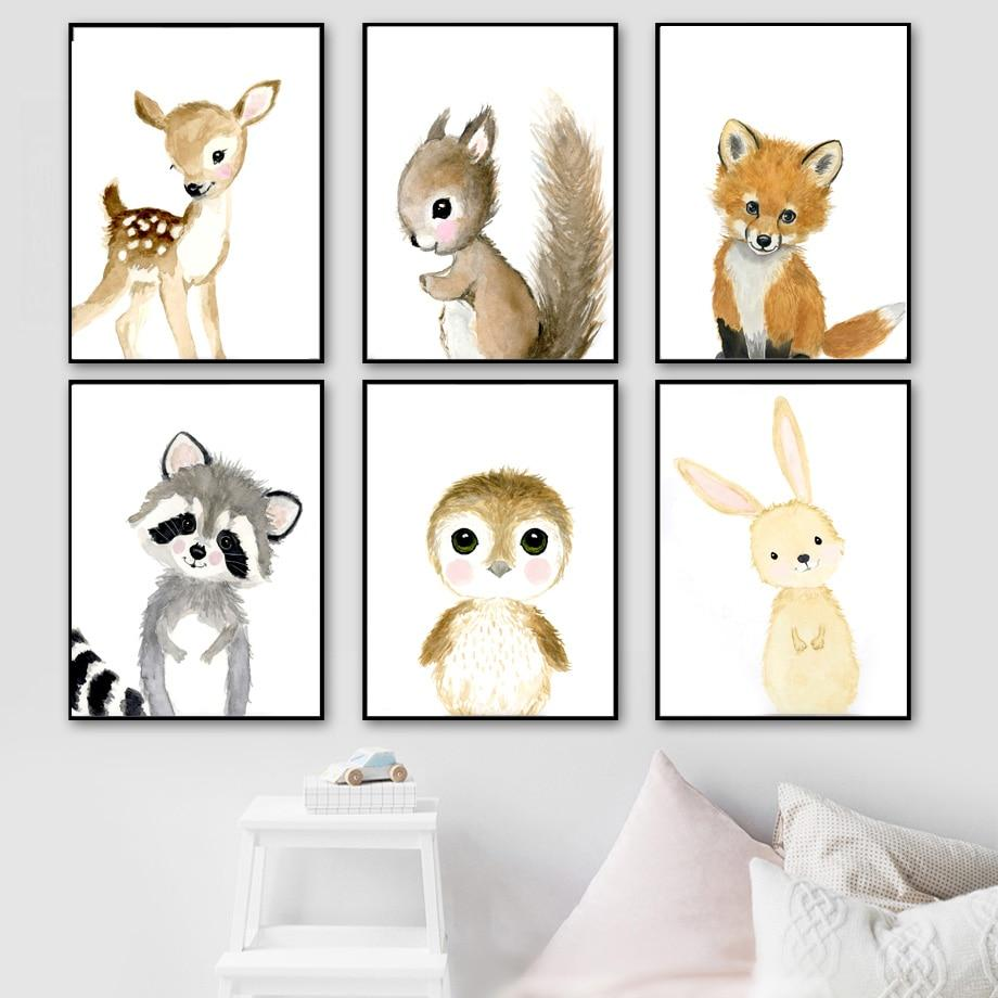 Animal Kids Room canvas - Gaia-Stock.com