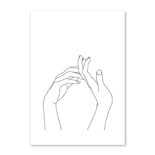 """Hands"" Canvas Art - Gaia-Stock.com"