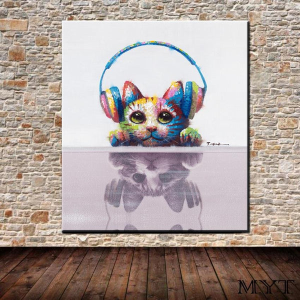 music cat - Gaia-Stock.com