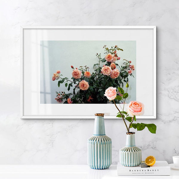 Nordic Rose Canvas - Gaia-Stock.com