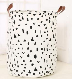 Nordic Style Canvas Storage Bag For Toys Clothes Kids Room Organizer Bag Pouch Canvas Storage Pouch Stand Bag For Kids 40x50CM - Gaia-Stock.com
