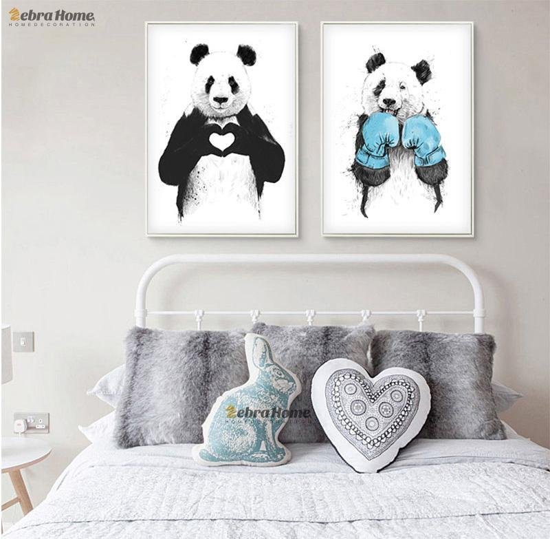 Panda Sketch Canvas - Gaia-Stock.com