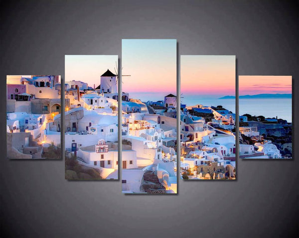 Santorini Sunset View - Gaia-Stock.com