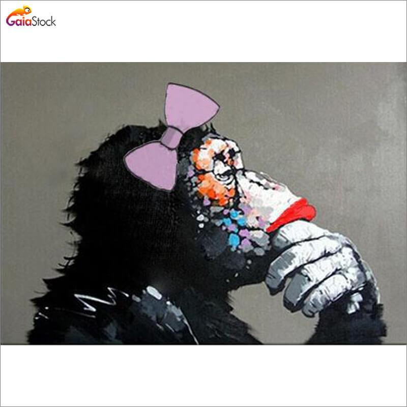 Thinking Monkey - Gaia-Stock.com