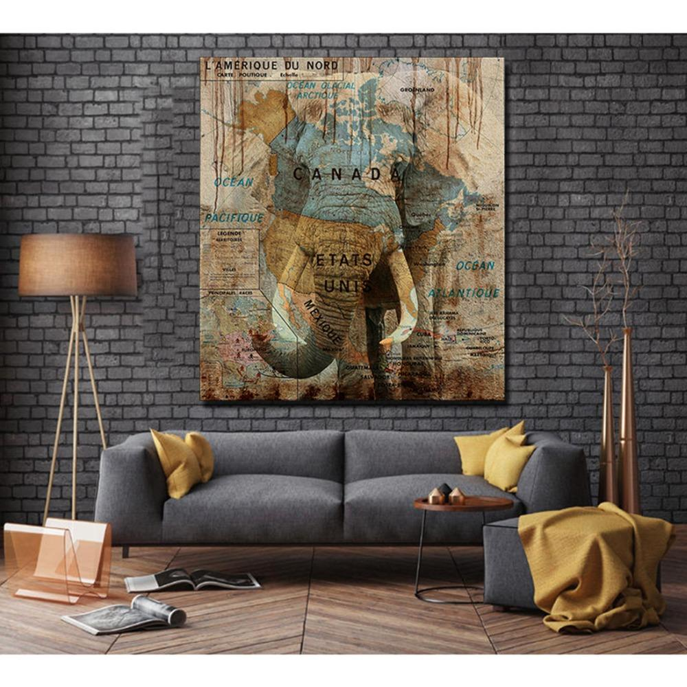 Wildlife Colorful Elephant - Gaia-Stock.com