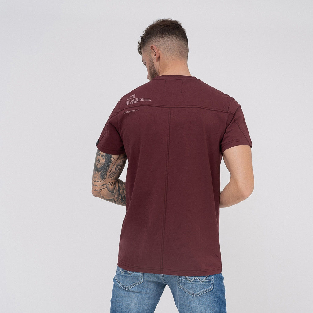 Anderton T-Shirt Tawny Port