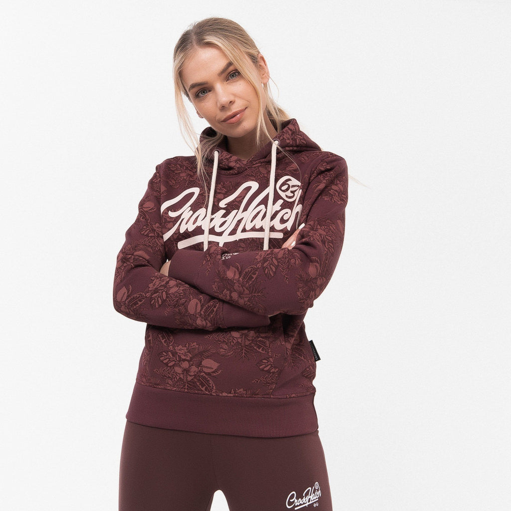 Ladies Adelyn Hoodie Xs / Deep Red Hoodies