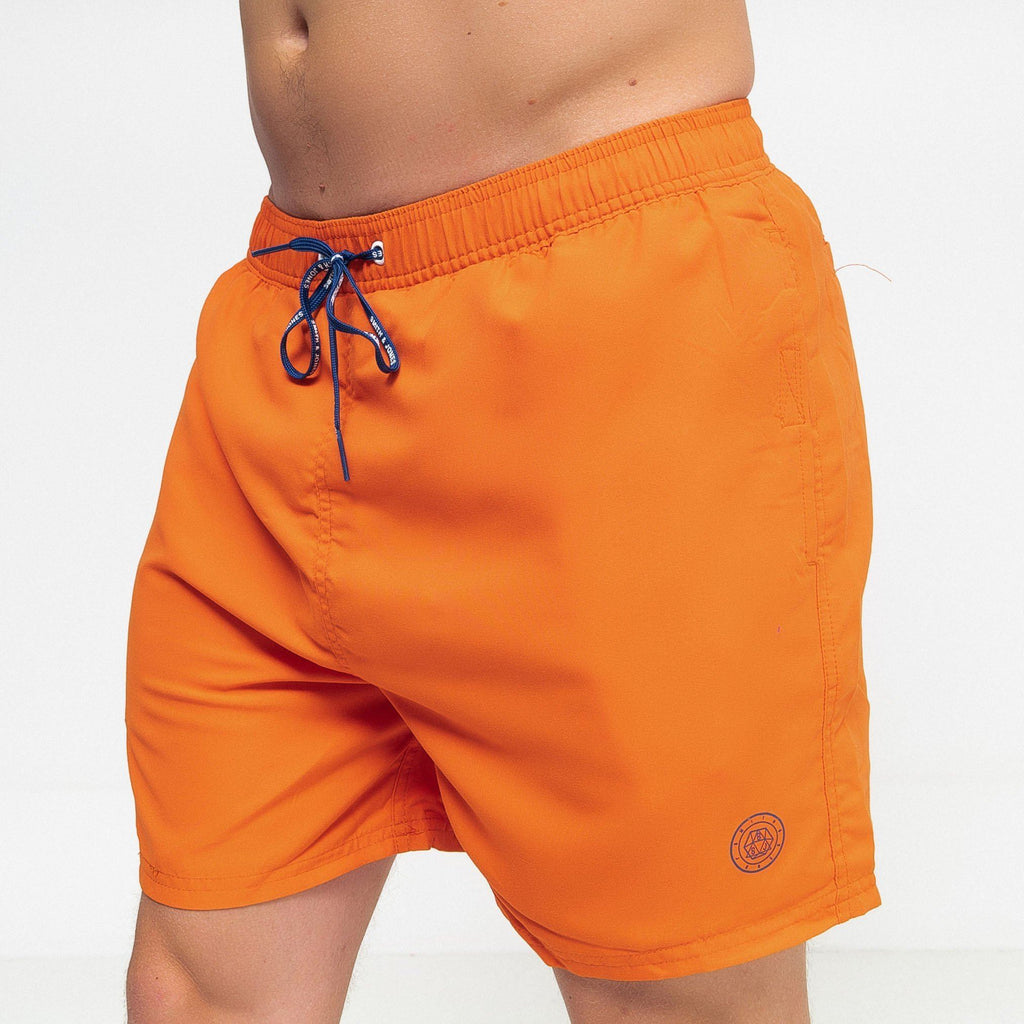 Alsbrook Swim Shorts Red Orange / S