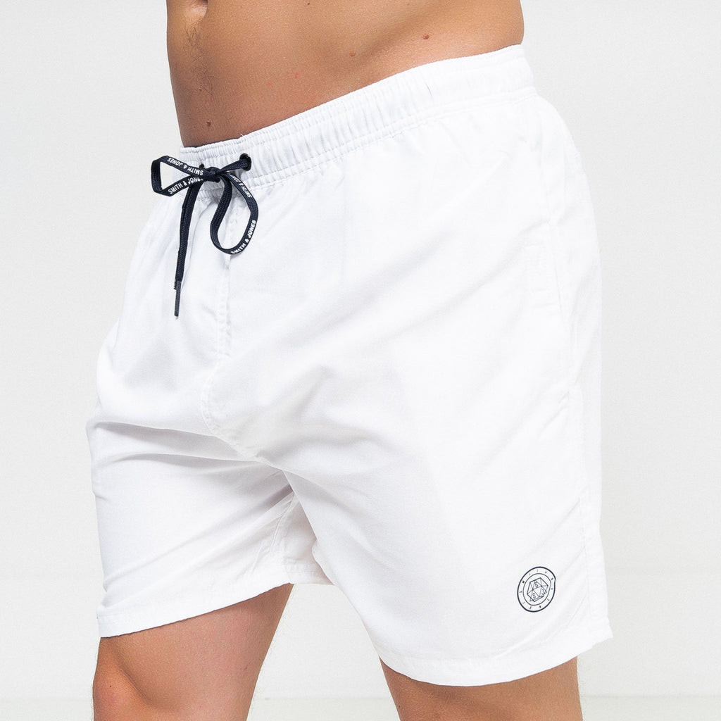 Alsbrook Swim Shorts White / S