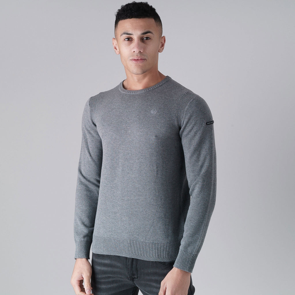 Altitude Knit S / Mid Grey Marl Knitwear