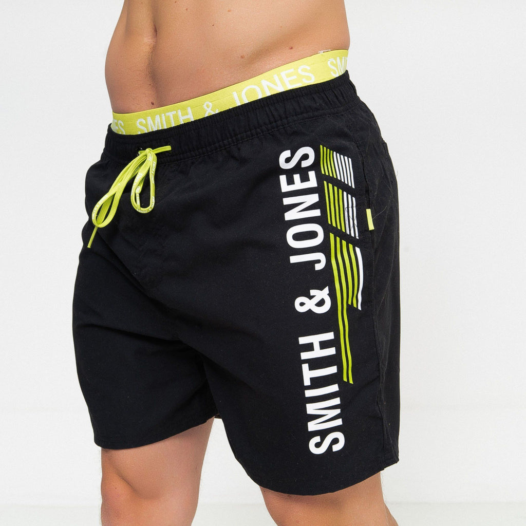 Baisley Swim Shorts Black / S