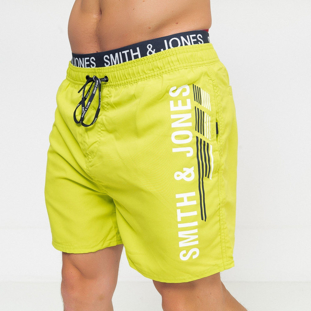 Baisley Swim Shorts Lime Punch / S