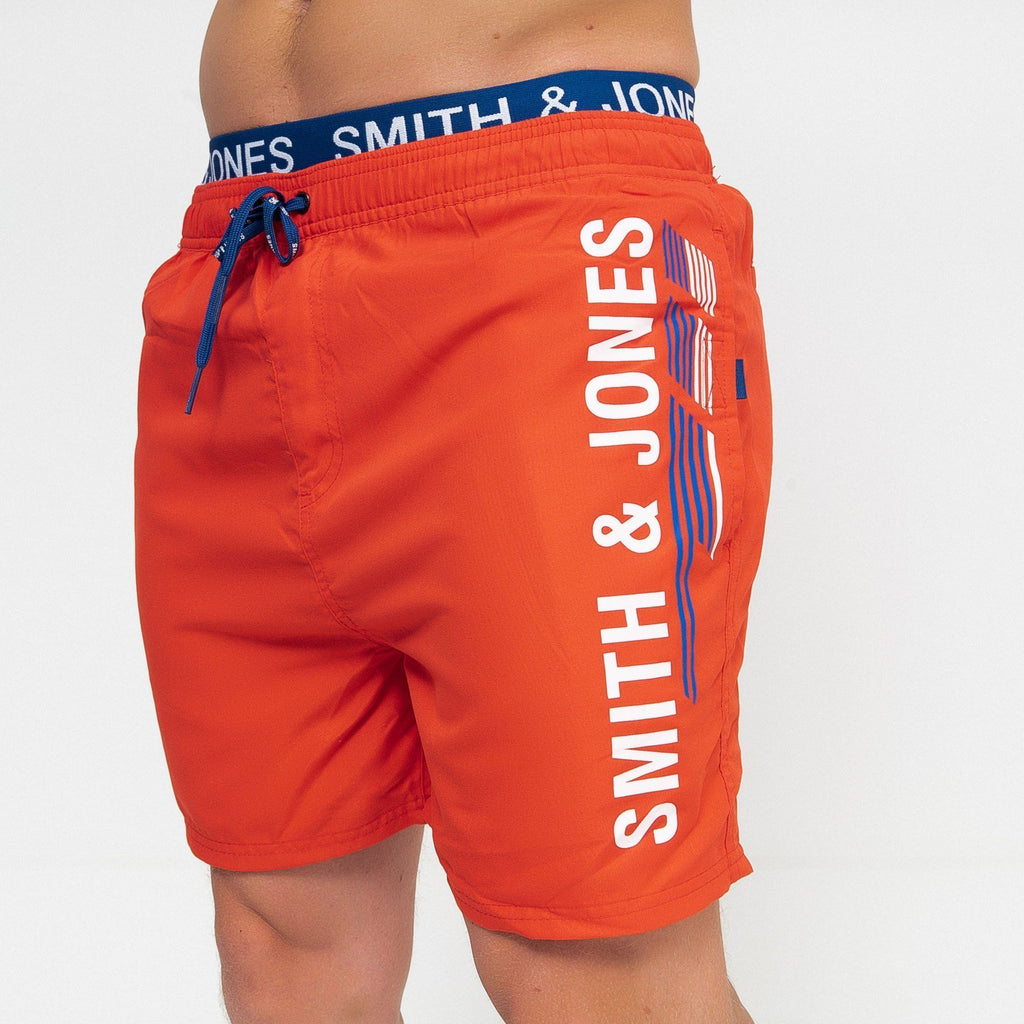 Baisley Swim Shorts Poppy Red / S