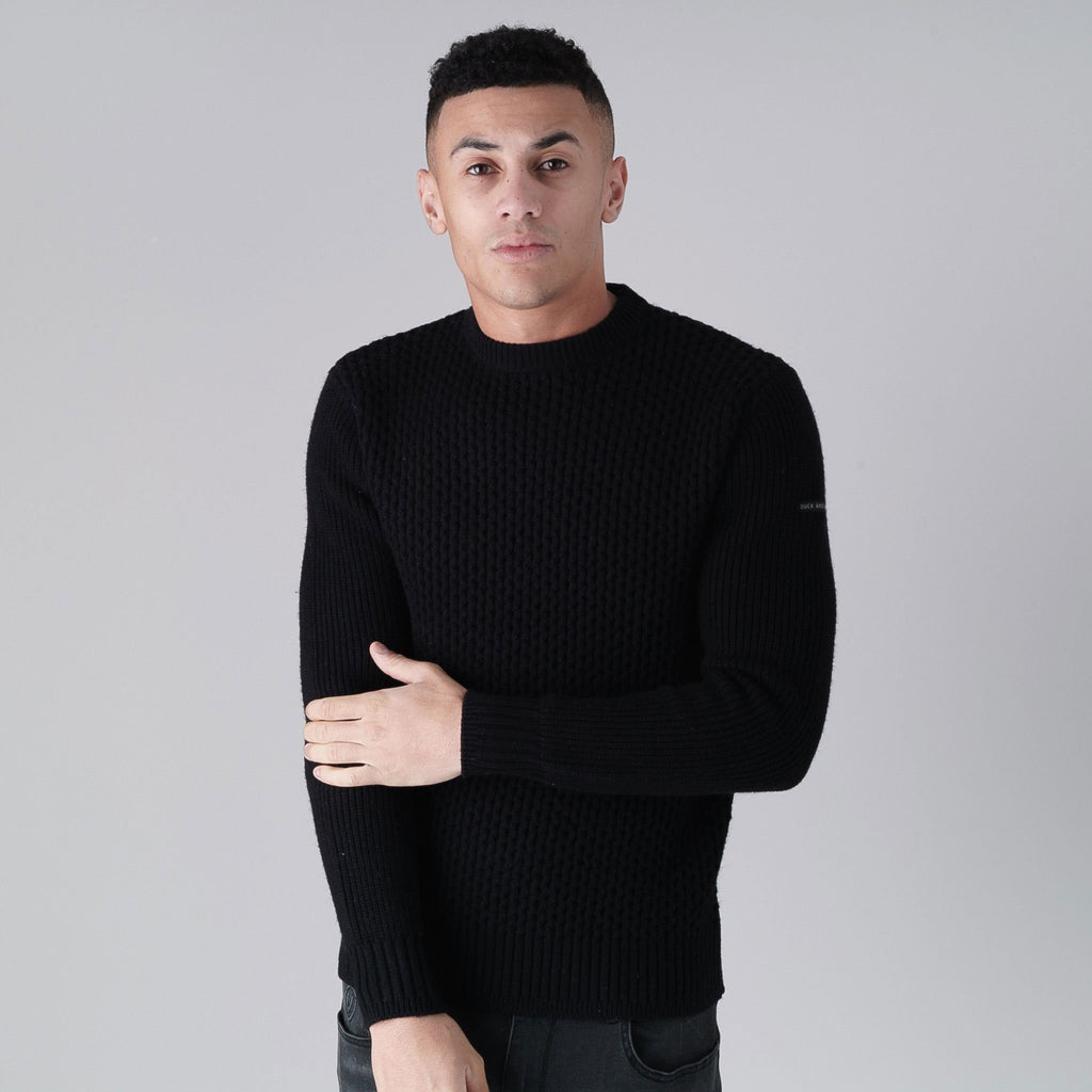 Beam Knit S / Black Knitwear