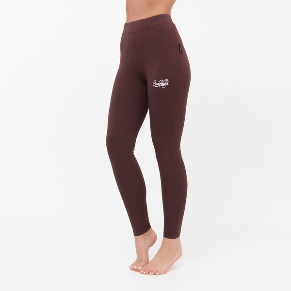 Ladies Bethey Leggings Xs / Deep Red