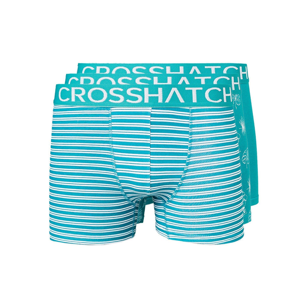 Hovland Boxers 3Pk Tropical Green Underwear