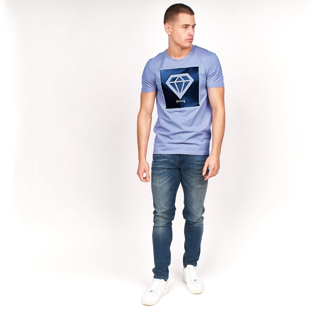 Gomez T-Shirt Blue Ice
