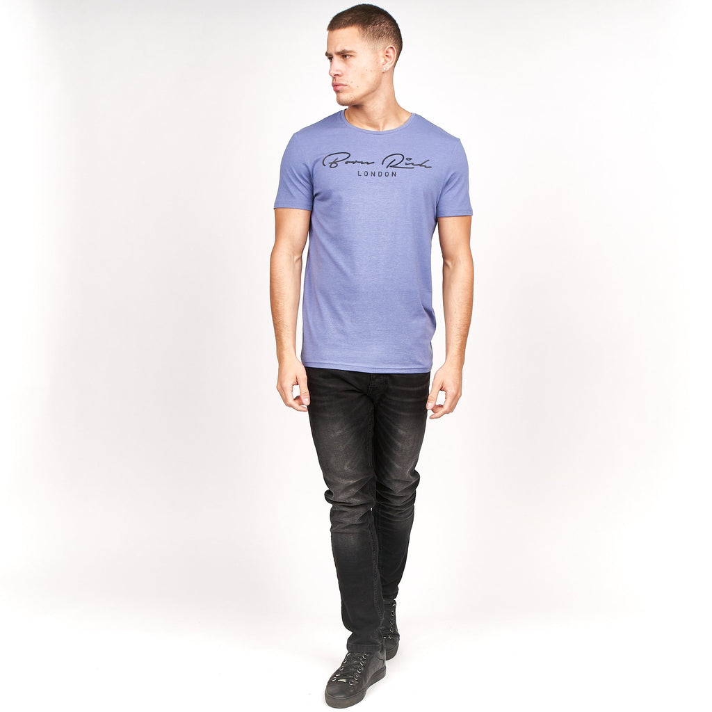 Tierney T-Shirt Blue Ice Marl