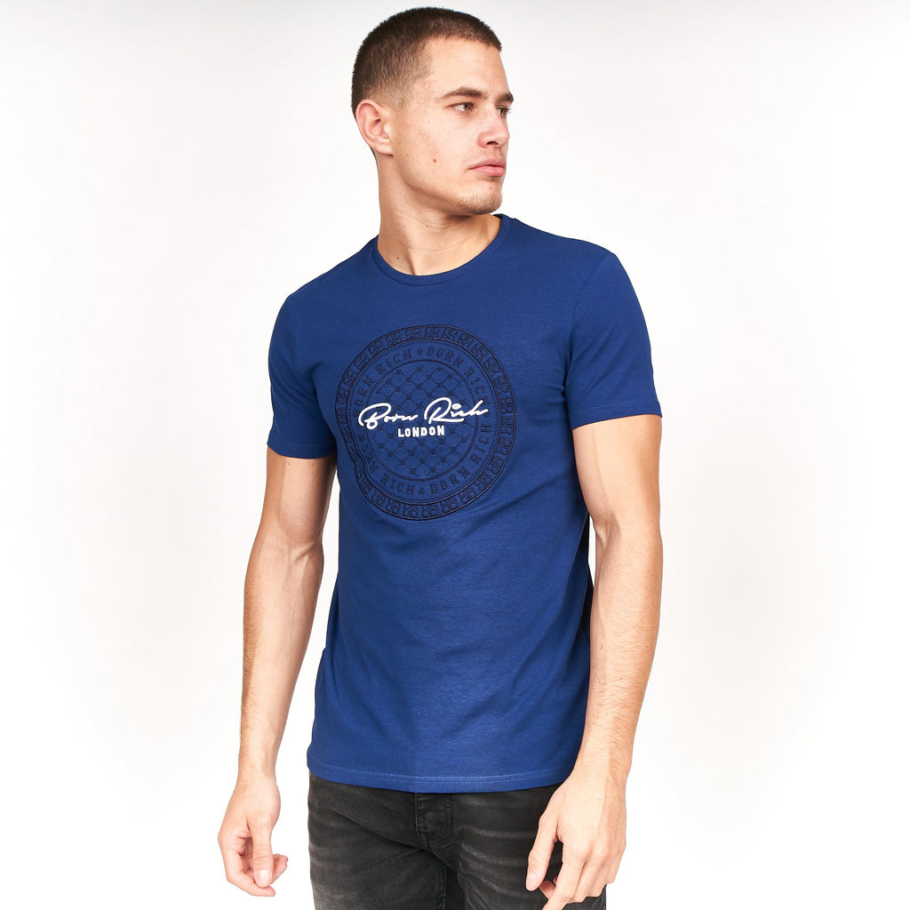Wague T-Shirt Twighlight Blue