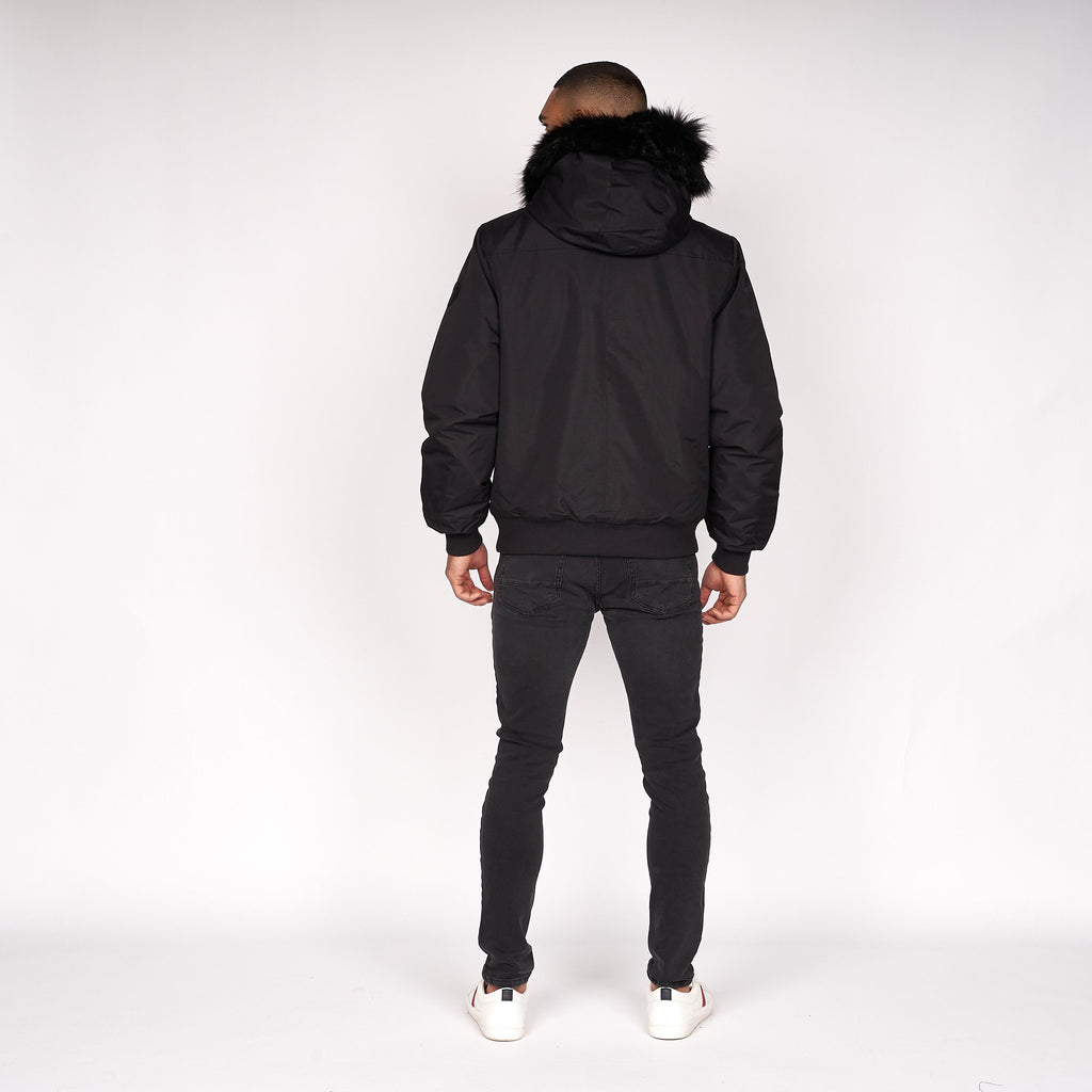 Boseli Hooded Jacket Black