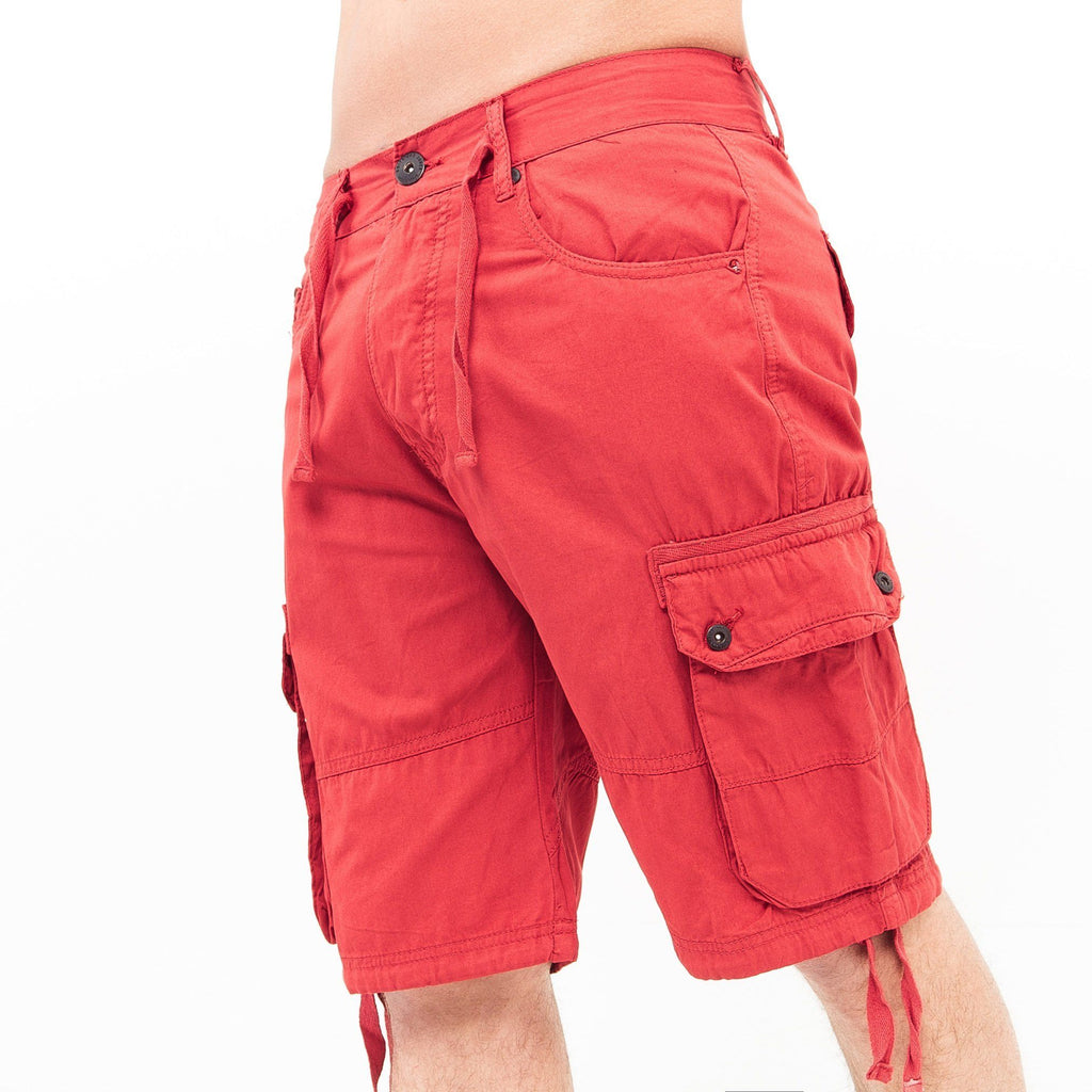 Bruxton Cargo Shorts W30 / Samba Red
