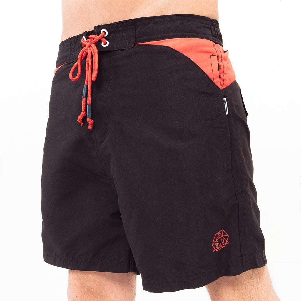 Buoyant Swim Shorts + Flip Flops S / Black