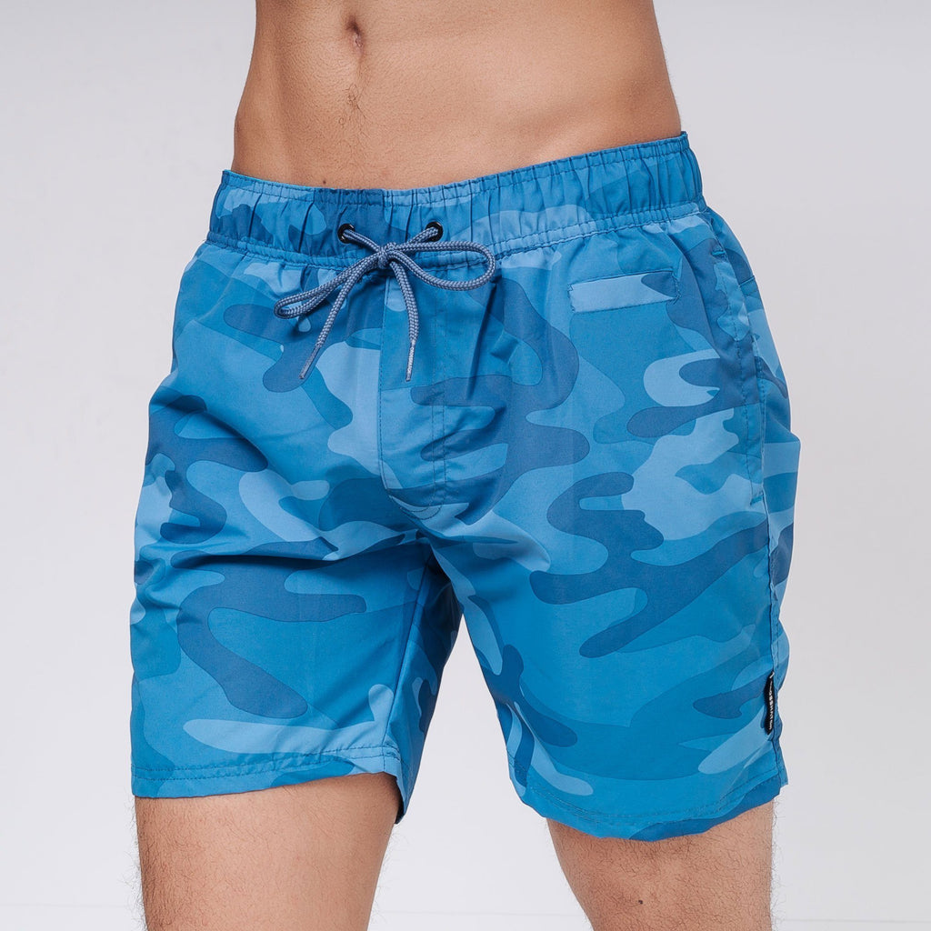 Camoswim Swimshorts S / Blue Camo Shorts