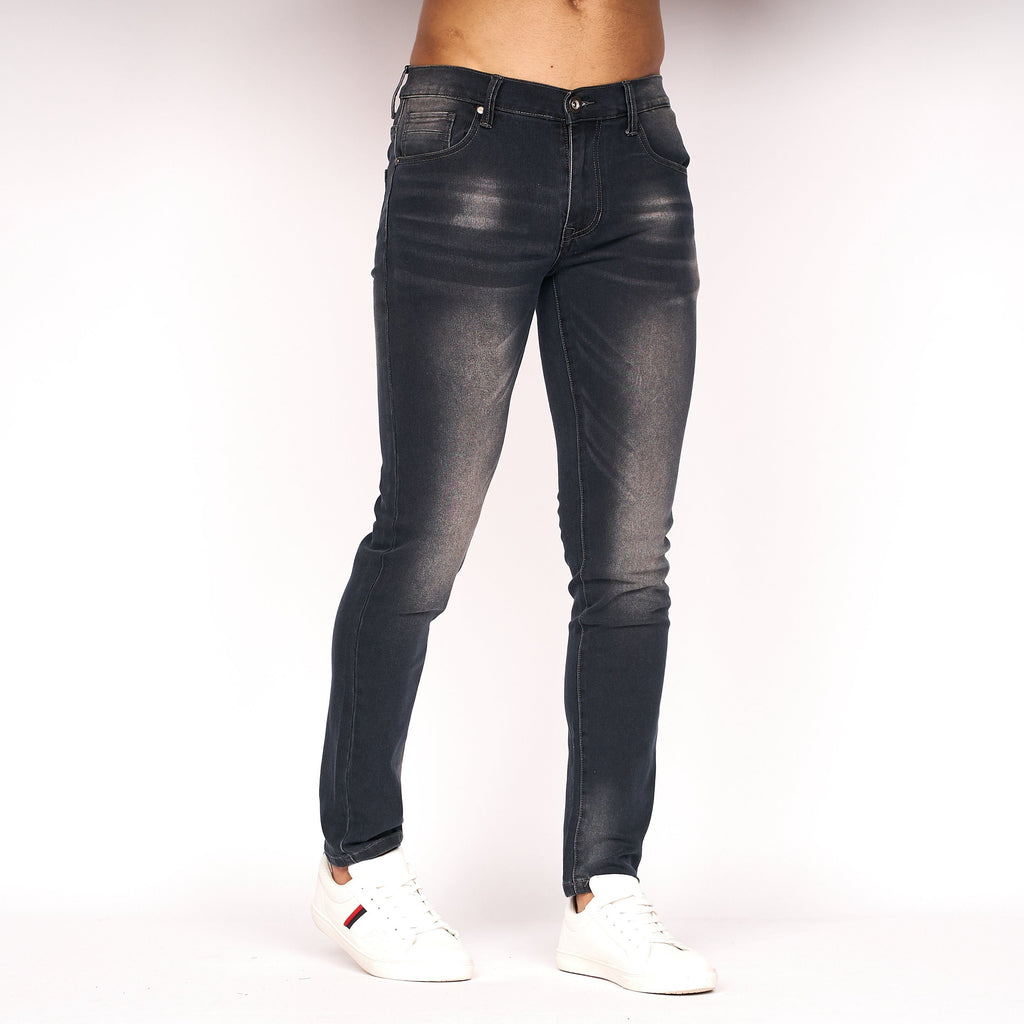 Emaciated Distressed Jeans Black