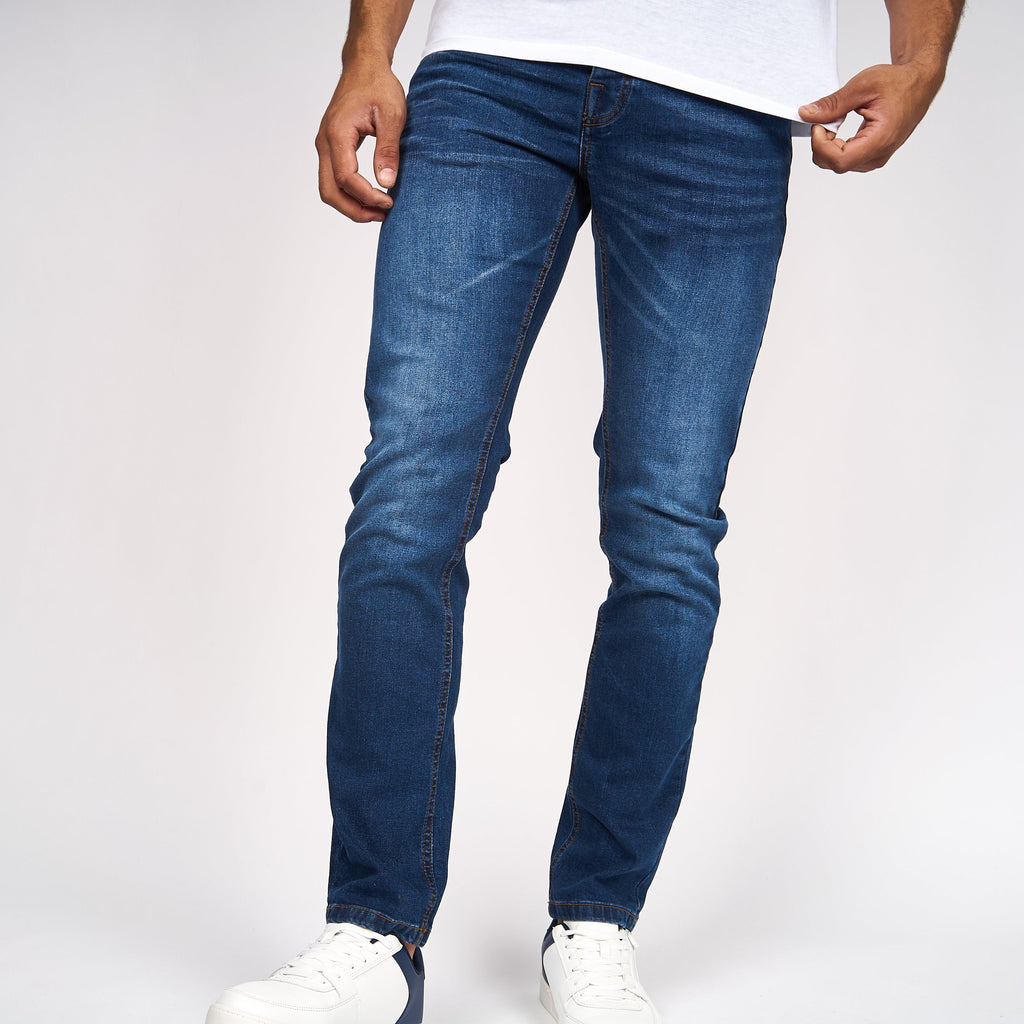 Buraca Slim Fit Jeans Stone Wash