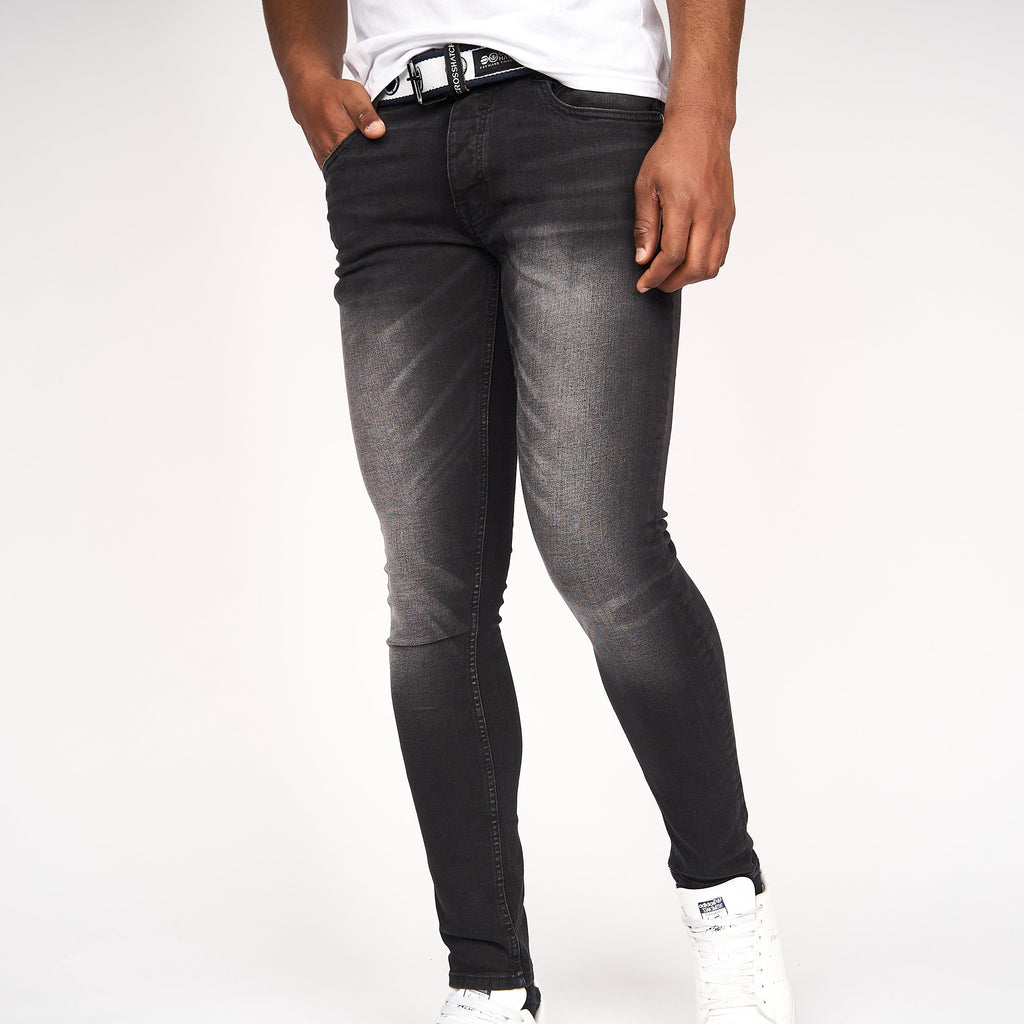 Barbeck Slim Fit Jeans Black Wash