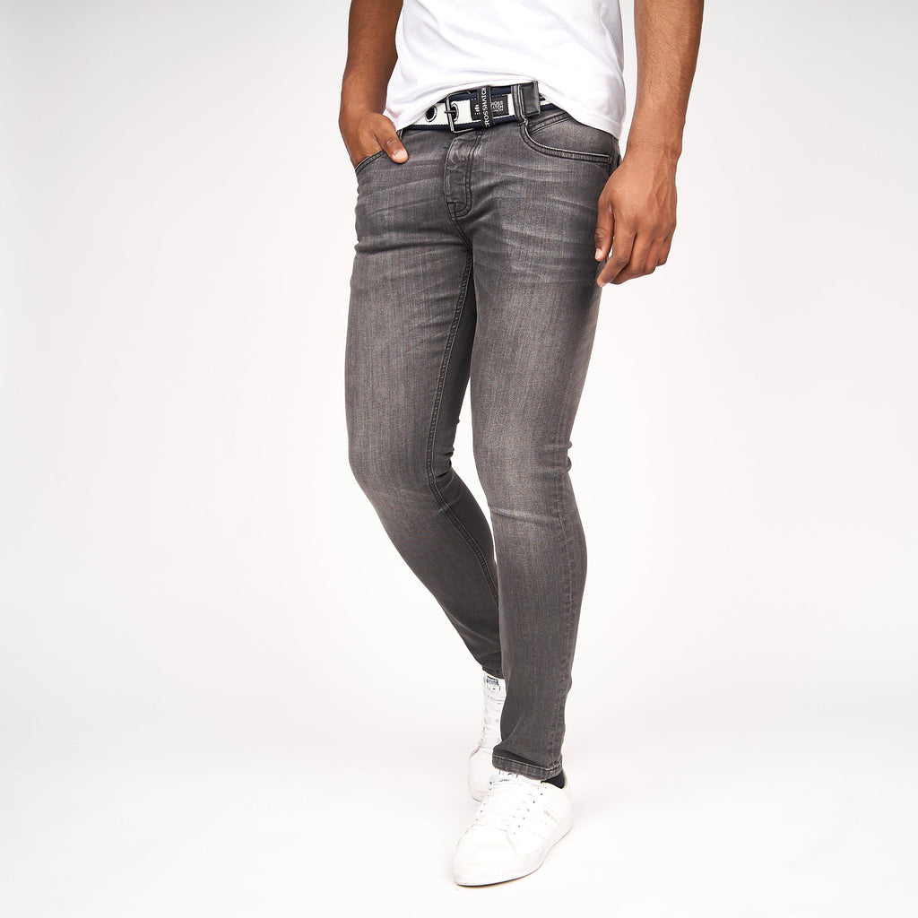 Barbeck Slim Fit Jeans Grey Wash