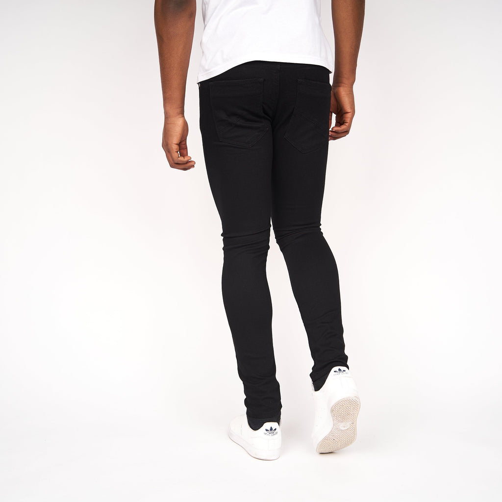 Caden Slim Fit Jeans Black Wash