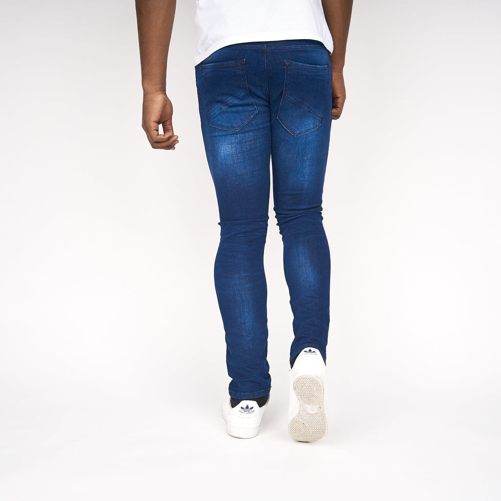 Caden Slim Fit Jeans Stone Wash