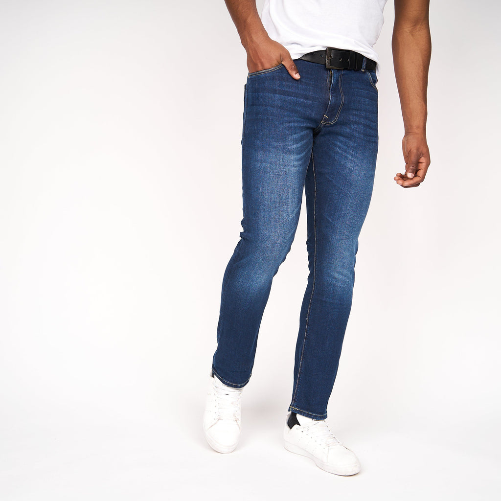 Cadman Straight Jeans Stone Wash