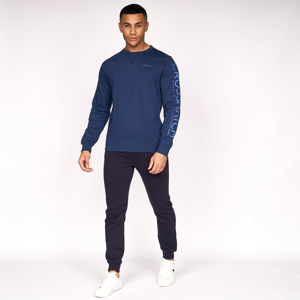 Cruetime Crew Sweat Insignia Blue