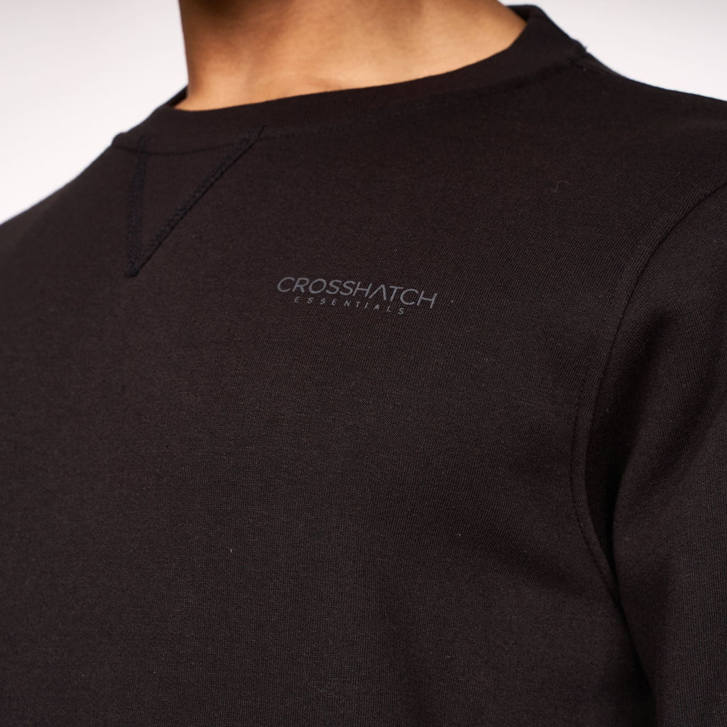 Cruetime Crew Sweat Black