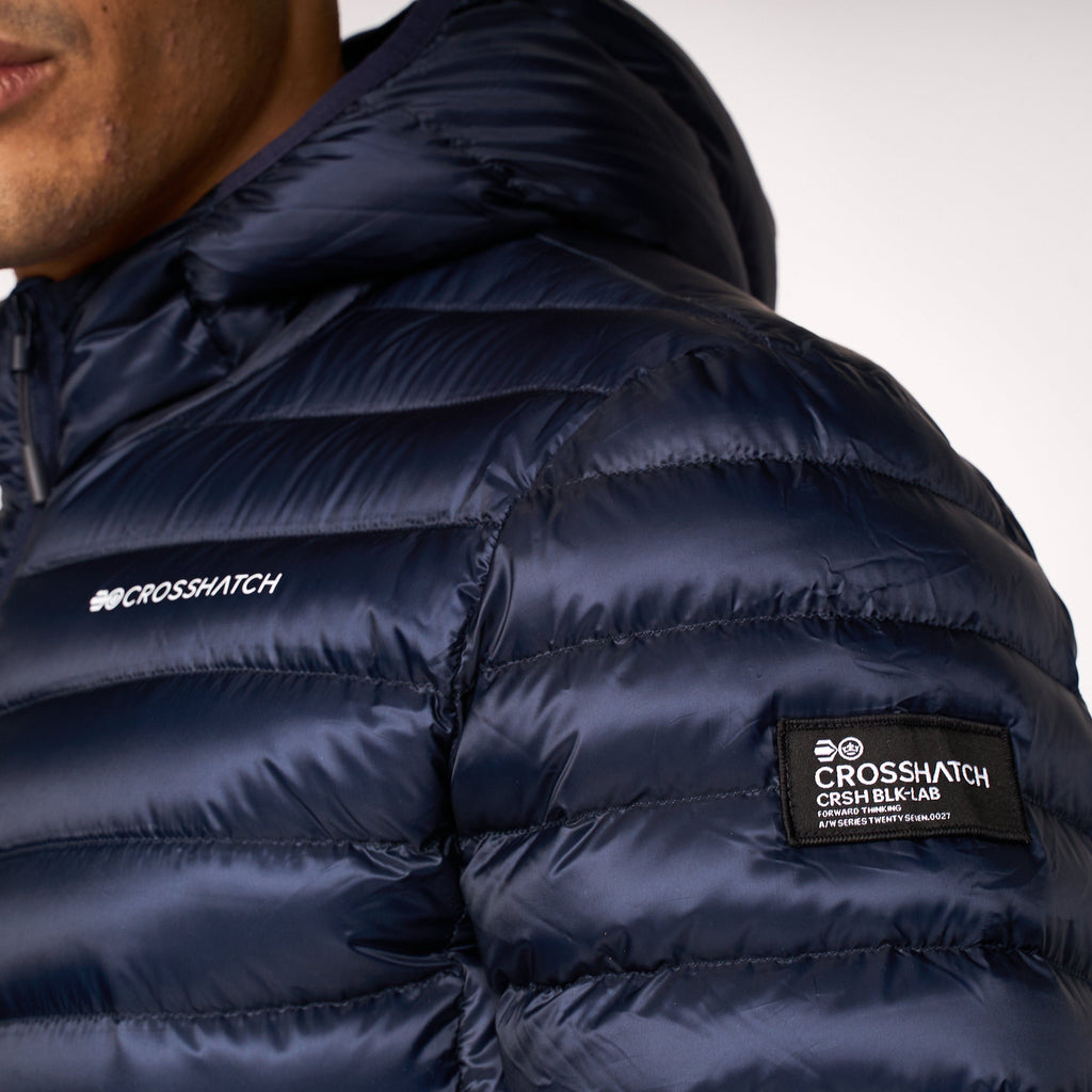 Fadegrade Quilted Jacket