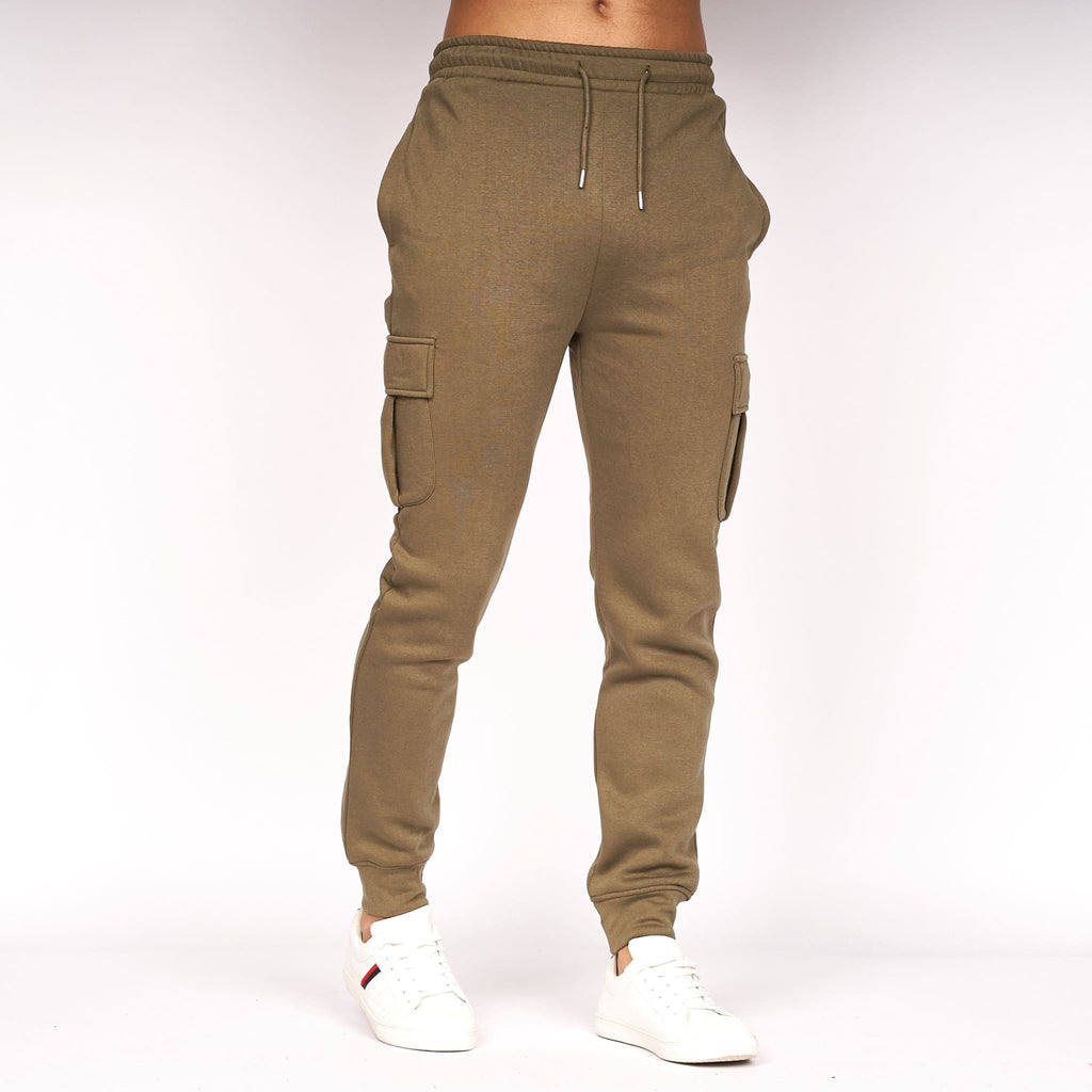 Combast Cargo  Joggers Dusty Olive