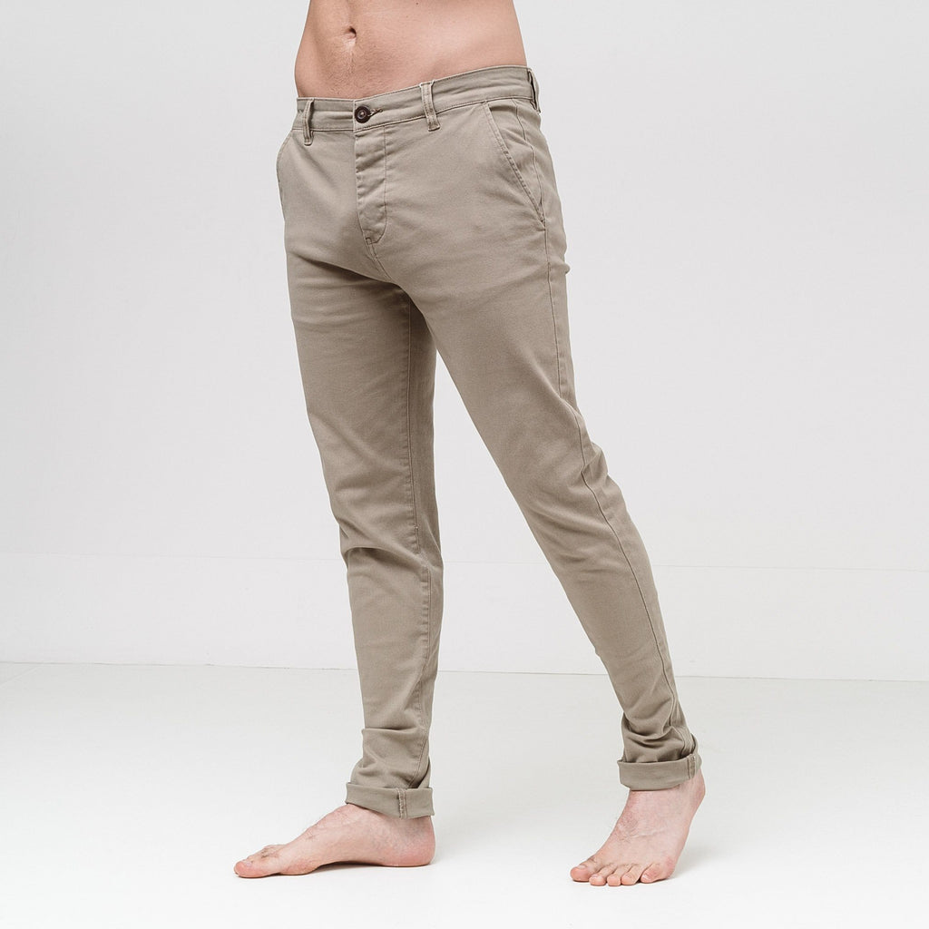 Chinor Chinos W30/l30 / Timber Wolf