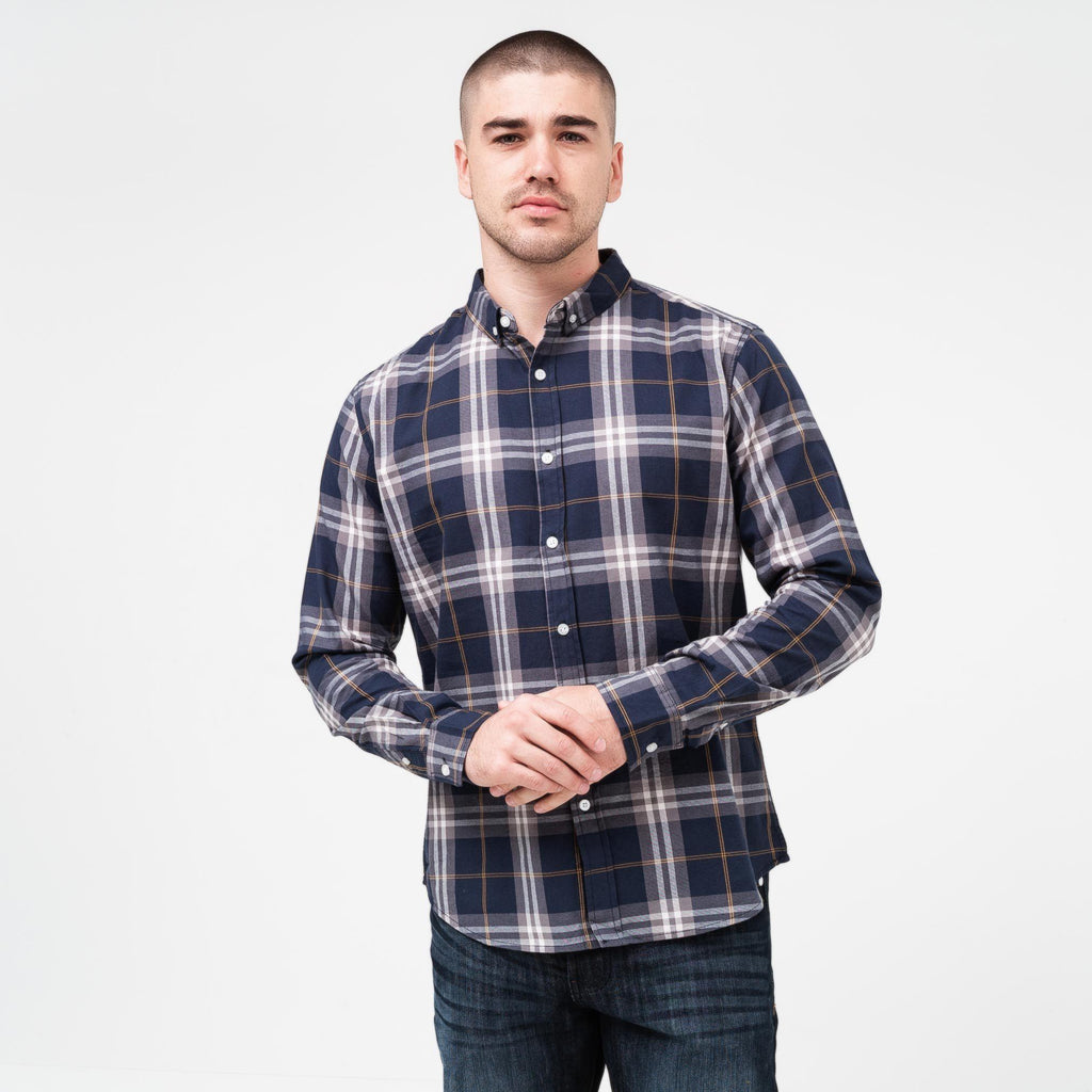 Contie Shirt S / Navy Check