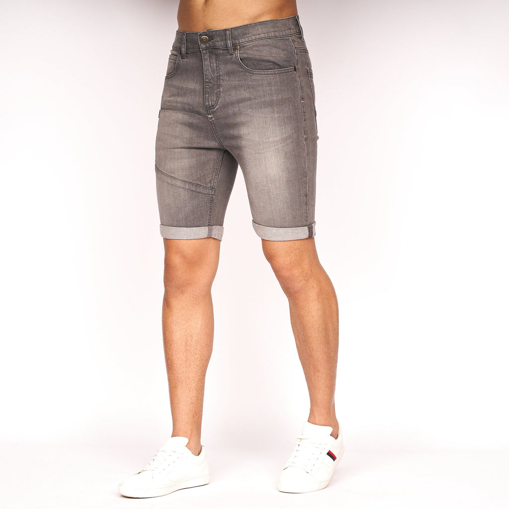 Fedgrove Shorts Grey Wash